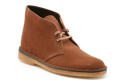 Desert boot in cola from  shoes