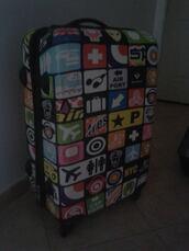 bag,suitcase,beautiful bags,swag