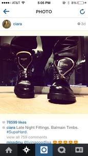 shoes,balmain,ciara