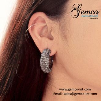 jewels fashion earrings jewelry designer jewelry gemco earrings hoop earrings silver earrings gemco international troye sivan