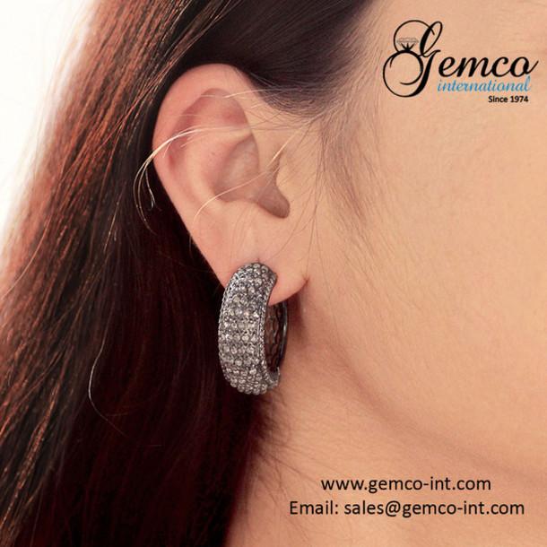 jewels fashion earrings earrings jewelry designer jewelry gemco earrings hoop earrings silver earrings gemco international troye sivan