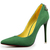 Suede Pointed Toe OL Stiletto Heel Mature Pumps : KissChic.com