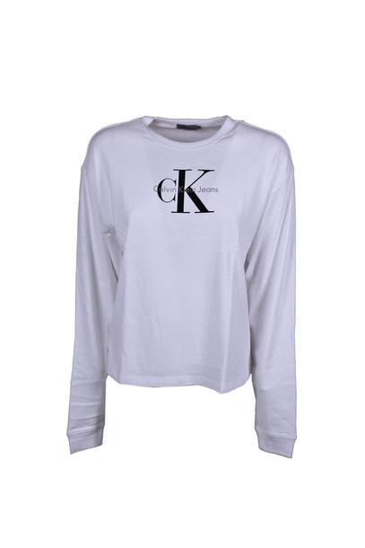 Calvin Klein Jeans t-shirt shirt t-shirt white bright top