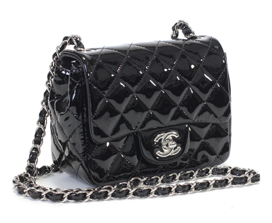 Rakuten: Chanel bags CHANEL ミニマトラッセ new key 2013 Cruise Black patent A35200 Chanel in black enamel leather ミニマトラッセチェーンショルダー bag COCO mark 05P18Oct13- Shopping Japanese products from Japan
