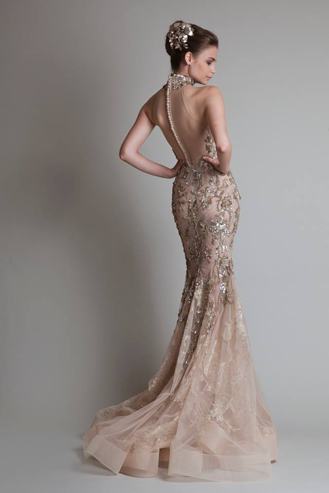 Krikor Jabotian Fall/Winter 2013 Bridal Collection - Munaluchi Bridal Magazine