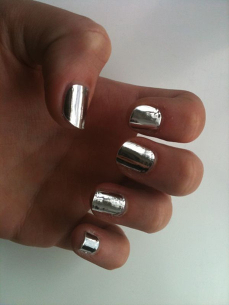 silver jewels nail polish