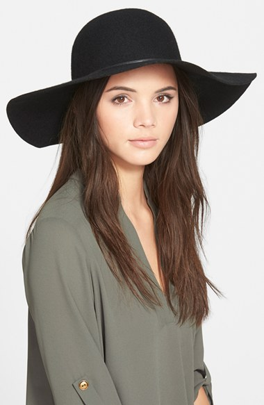 BP. Rope Trim Floppy Felt Hat | Nordstrom