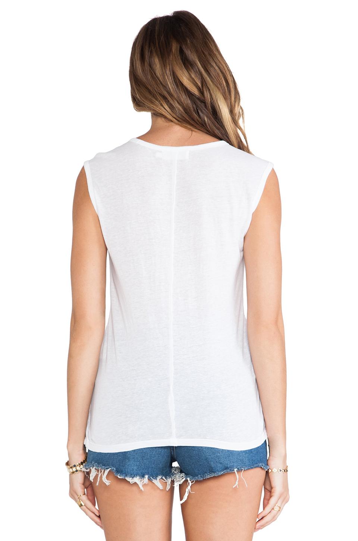 Velvet by graham & spencer merrilee heather blend knit tank in white from revolveclothing.com