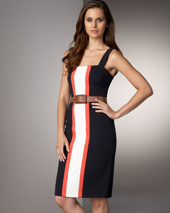 Diane von Furstenberg Colorblock Dress - Bergdorf Goodman
