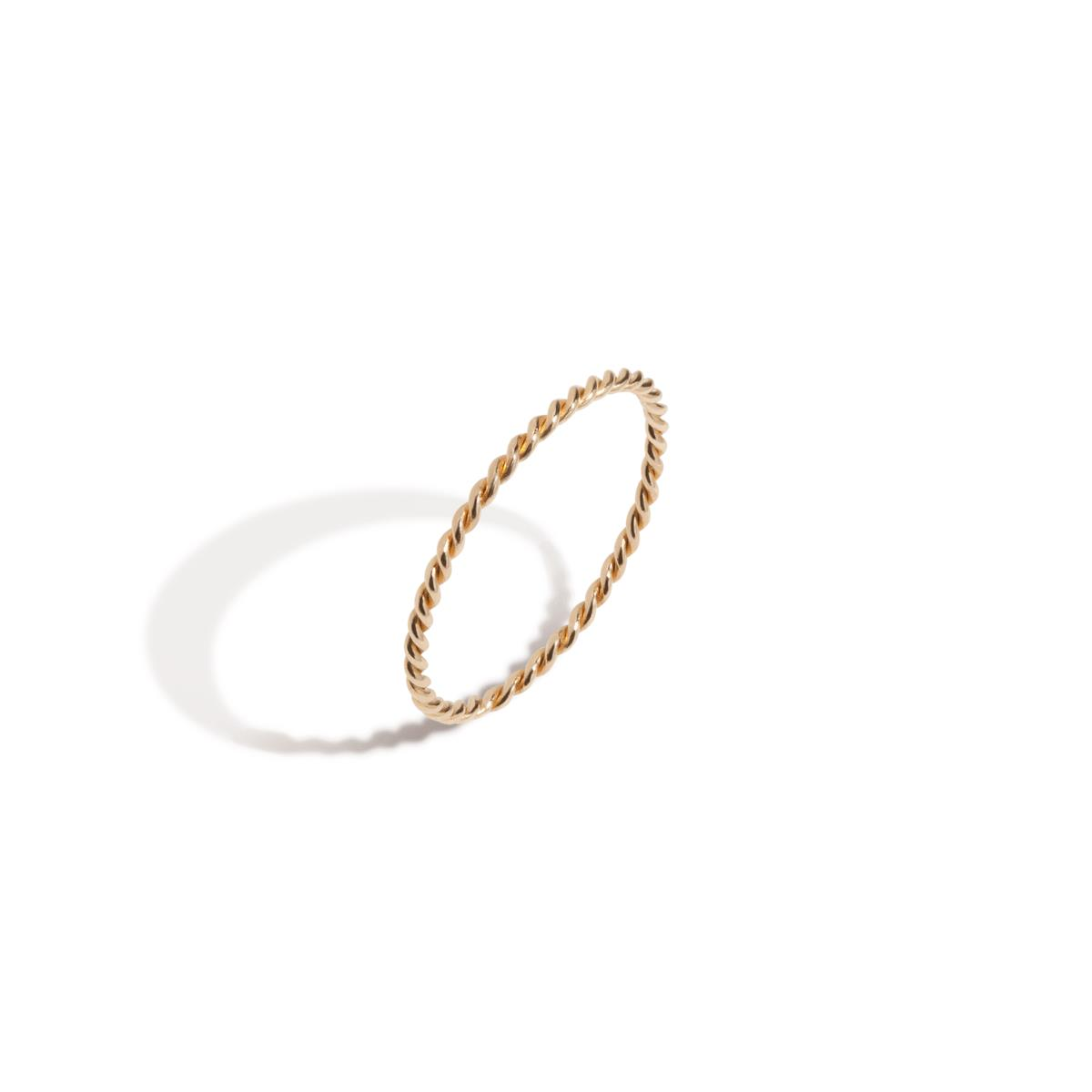 Stackable Twist Ring