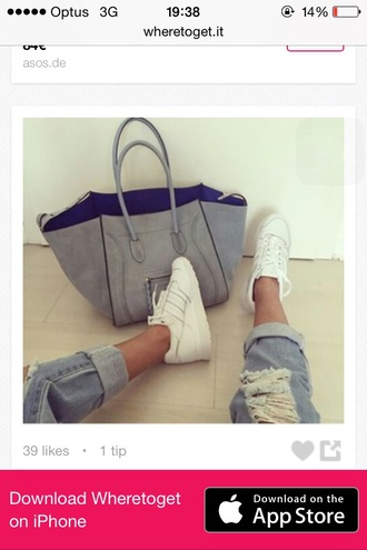 shoes adidas white nike vintage bag