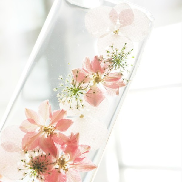 Phone Cover Summer Summer Handcraft Scarf Floral Flowers Pink