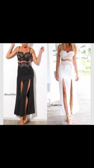 dress white corset class corset dress slit dress