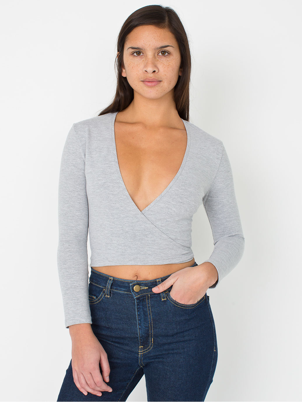 Cotton spandex julliard top