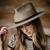 Dylan Fedora - Putty – Yellow 108 | Sustainable Headwear   Accessories