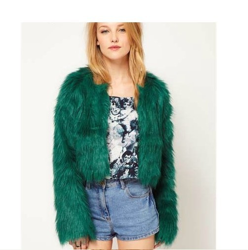 com : Buy free shipping Winter new imitation fox fur coat long ...