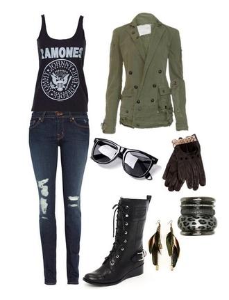 jacket shirt ramones black grunge hipster style t-shirt