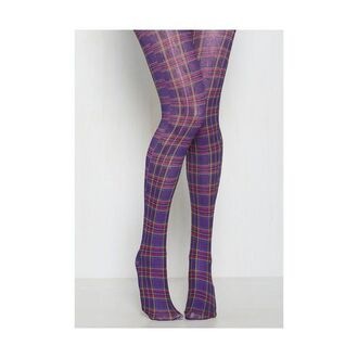 leggings purple square red