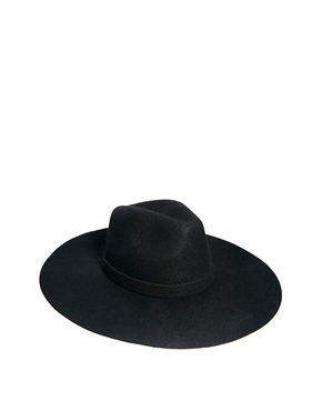 ASOS | ASOS Oversized Felt Fedora Hat at ASOS