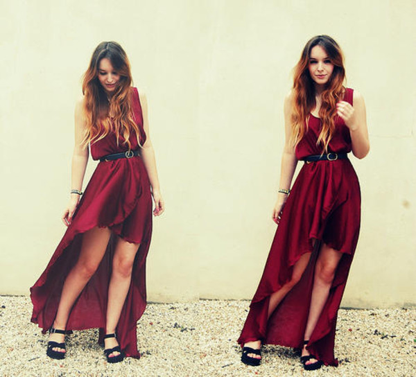 red dress dress fashion red summer dress spring dress high low dress high low high low maxi dress maxi dress maxi burgundy burgundy maroon/burgundy burgundy dress burgundy dress chiffon chiffon dress chiffon high low dress chiffon maxi dress chiffon maxi belted dress