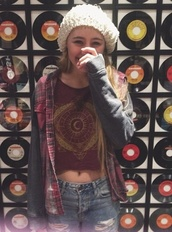 lia marie johnson,flannel shirt,shirt,jacket