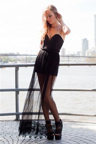 Shop Fashion Avenue - Embrace The Night Playsuit