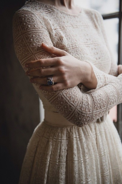 vintage style dress rings up