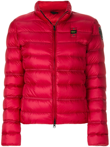 Blauer jacket women red