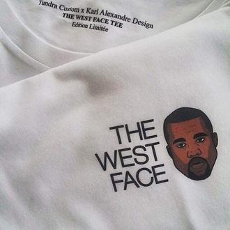 shirt kanye west white funny tumblr funny sweater