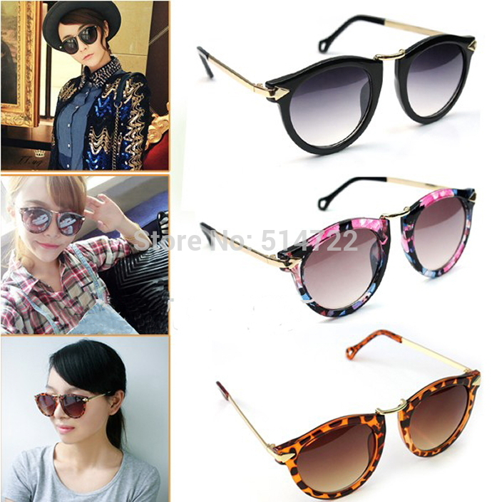 1Pcs 2014 New Sexy Unisex Sunglasses Arrow Style Eyewear Metal Frame Round Sunglasses Free Shipping-in Sunglasses from Apparel & Accessories on Aliexpress.com | Alibaba Group