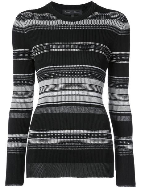 Proenza Schouler sweater women cotton black