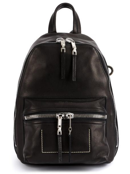 Rick Owens women backpack leather black bag