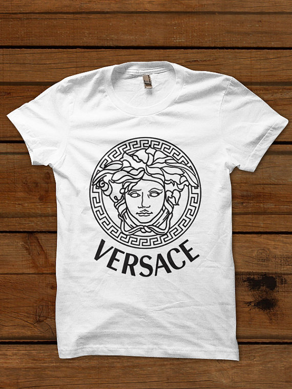 versace shirt versace tshirt t shirt tee tshirt top by popteesatl. Black Bedroom Furniture Sets. Home Design Ideas