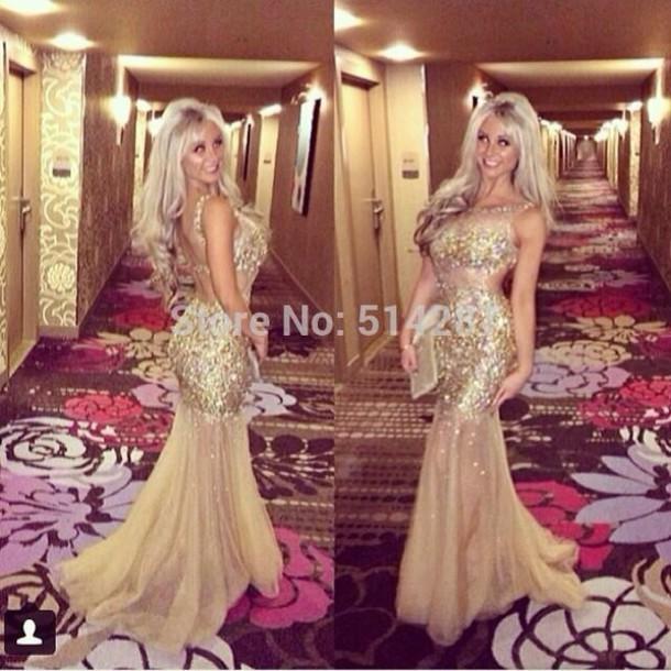dress gold prom dress gold prom dress sparkle
