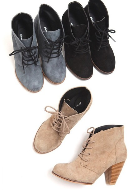 shoes booties shoes lace up ankle boots