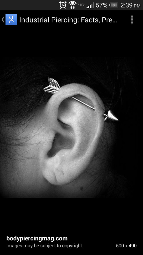 jewels industrialpiercing arrow 14k gold jewelry