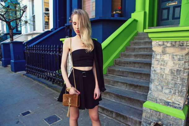 alice point jacket skirt underwear t-shirt bag shoes
