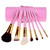 Pink Brush Set With Case – Dream Closet Couture