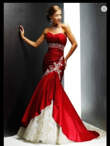 dress prom dress red dress elegant red mermaid style wedding dress purple dress white dress fishtail dress wedding dress red halter prom dresses blue lace dress prom gown