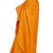 Strapless ottoman side draped gown | moda operandi