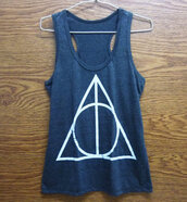 tank top,harry potter tank top,pop shirt,screen printing,polyester,store shirt,style,stone,t-shirt,tshirt design,harry potter,movies,harry potter tank tops,graphic tee,women clothing,yoke,fitness,sporty,potter,teenagers,fashion,harry potter and the deathly hallows,deathly hallows print,deathly hallows tshirt,teen tshirt,clothes,graphic shirt,singlet,singlet shirt,women,ladies,tank top.  crop top,pop rock shirt,charcoal,dark dress,gift women,gift girl,printed crop top,fitness tank,lady,women clothing store,store,girls shirt,girls clothing,fashion women,awesome clothes,awesome dress,teen women,teen girl shirt,pop punk,cute shirt,sommer,sommer dress,movie t shirt,movie shirt,workout top,design,designer,good