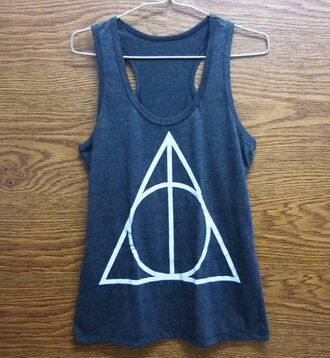 tank top harry potter tank top pop shirt screen printing polyester store shirt style stone t-shirt tshirt design harry potter movies harry potter tank tops graphic tee women clothing yoke fitness sporty style potter teens fashion deathly hallows deathly hallows print deathly hallows tshirt teen tshirt clothing clothes graphic shirt singlet singlet shirt women ladies tank top.  crop top teen pop rock shirt dark gray dark dress dark grey gift women gift girl printed crop top fitness tank lady women clothing store store girls shirt girls clothing fashion women teen fashion awesome clothes awesome dress teen women teen girl shirt pop punk cute shirt sommer sommer dress movie t shirt movie shirt workout top work design designer good