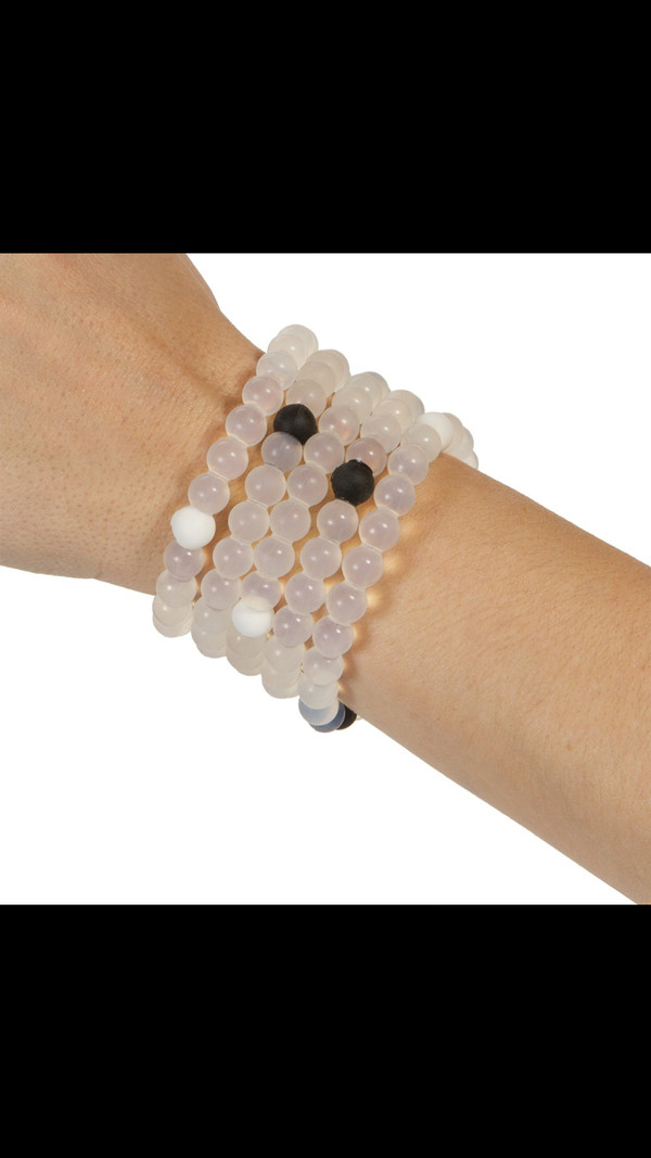 jewels clear bracelets