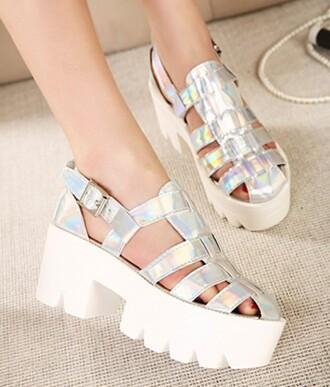 shoes cut-out shine