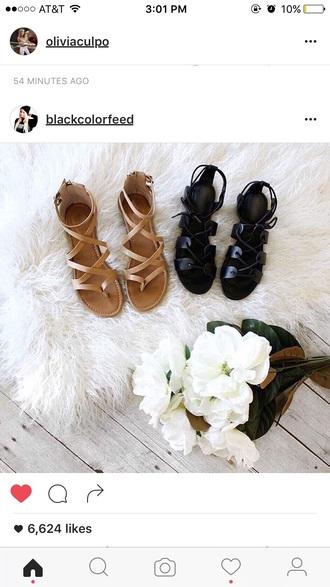 shoes black gladiators black gladiators beige sandals sandals