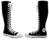 shoes,converse,black shoes,chuck taylor all stars,all star,high boots