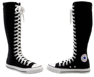 shoes converse black shoes chuck taylor all stars all star high boots