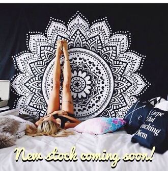 home accessory wall tapestry mandala wall hanging wall decor hippie wall hanging round wall hangings