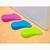 2pcs New Hard Plastic Foot Shape Door Stopper
