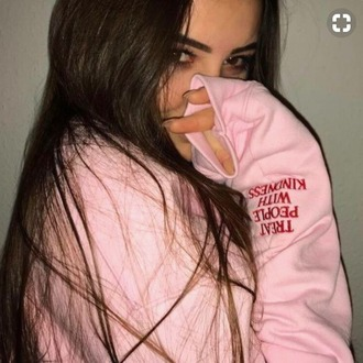 shirt tumblr pink kindness pretty winter outfits fashion clothes